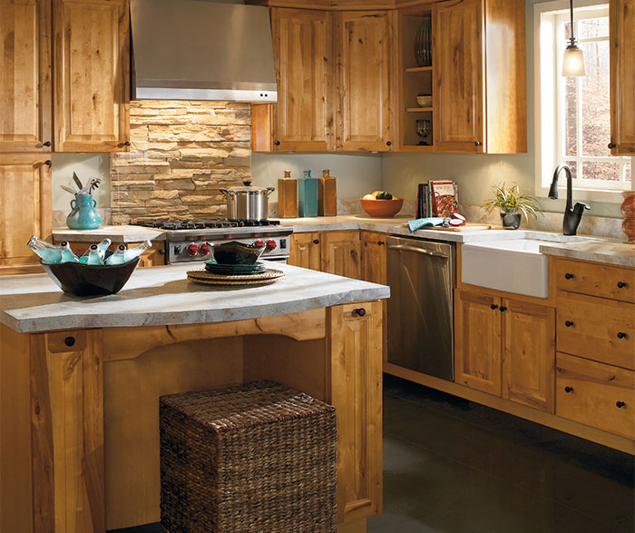 Rustic Kitchen Cabinets By Aristokraft Cabinetry