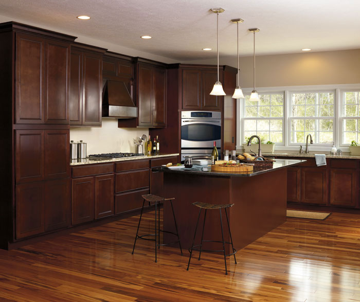 Maple Wood Kitchen Cabinets By Aristokraft Cabinetry ...