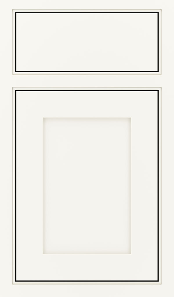 Harmony Maple Inset Cabinet Door in White