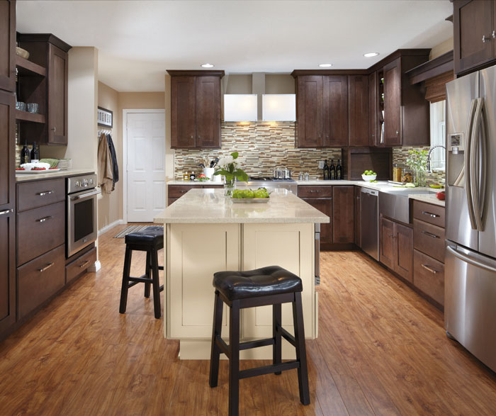 Wooden Kitchen Furniture Photos: Cabinet Wood Types Photo Gallery- MasterBrand
