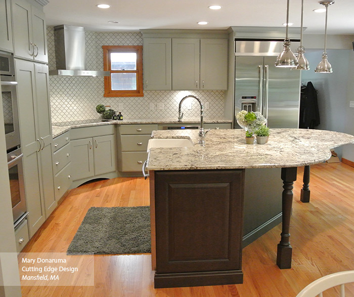 Tiny Kitchen Brands Llc: Open Kitchen Design With Dry Bar Area