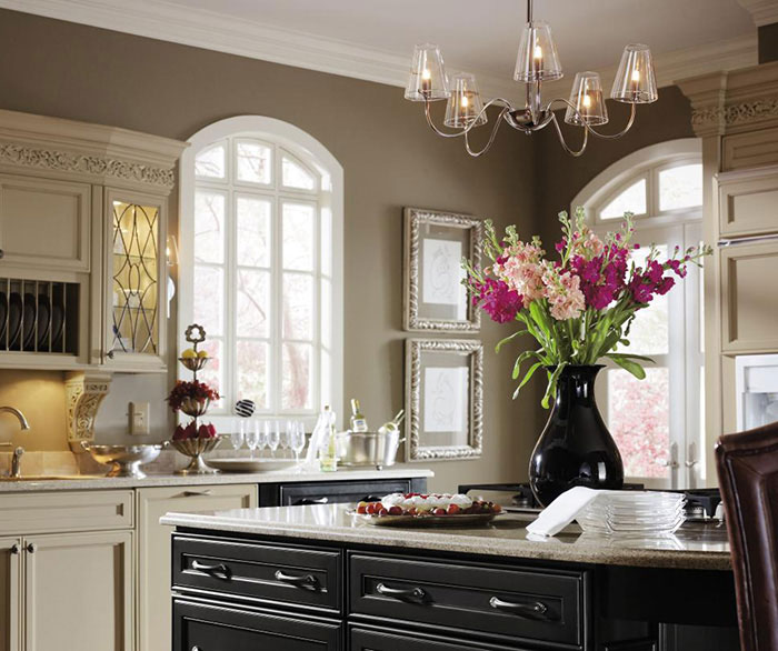 Painted Maple Kitchen Cabinets - MasterBrand