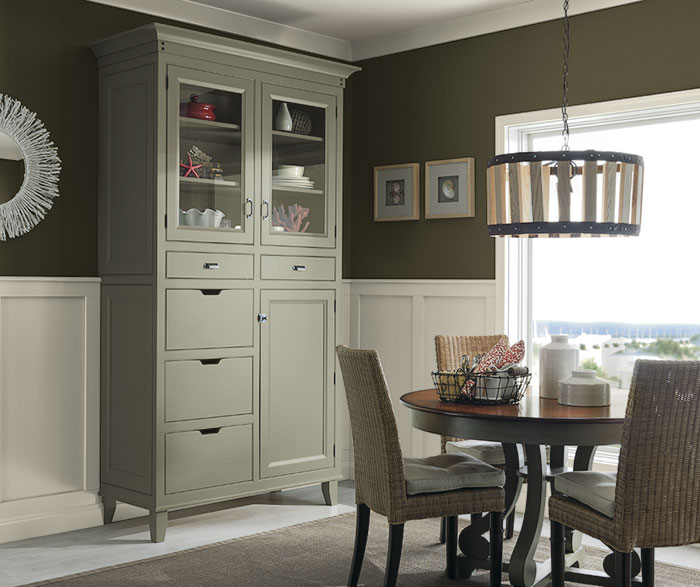 Inset Dining Room Cabinets