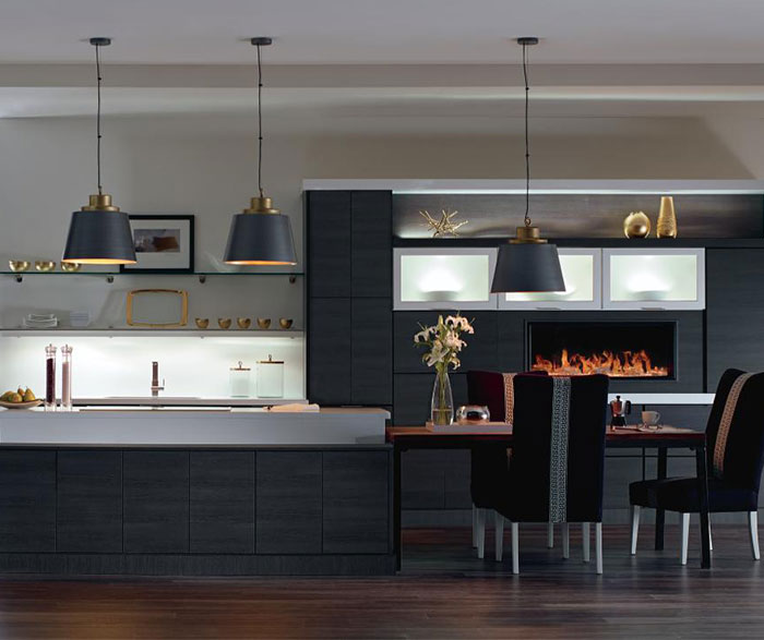 Kitchen Cabinet Design For Apartment: Contemporary Laminate Kitchen Cabinets