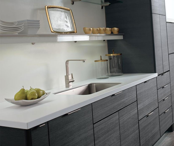 Contemporary Laminate Kitchen Cabinets Masterbrand