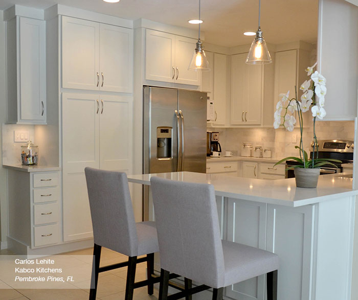 Kitchen Cabinets Pictures Free: White Shaker Kitchen Cabinets