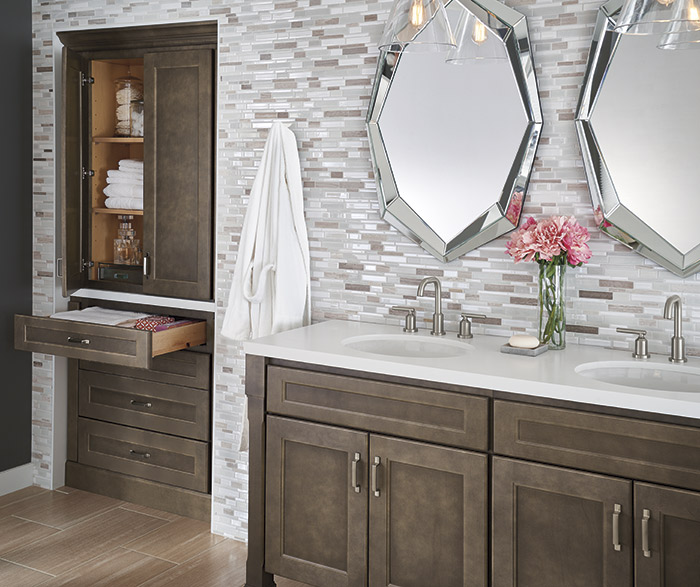 Shaker Style Bathroom Cabinets