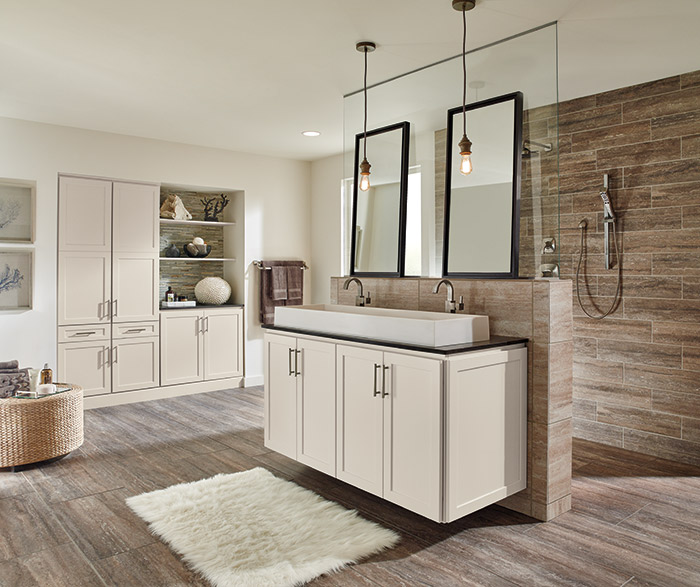 off white bathroom cabinets masterbrand. Black Bedroom Furniture Sets. Home Design Ideas