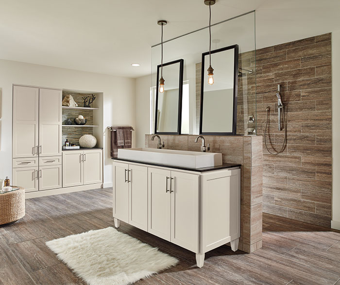 Off White Bathroom Cabinets MasterBrand