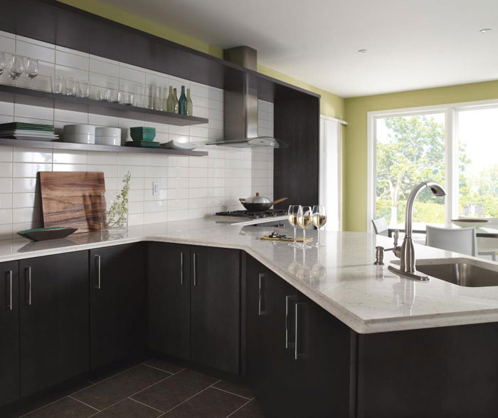 Dark Gray Kitchen Cabinets Masterbrand