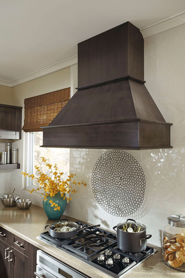 Casual Gray Kitchen Cabinets - MasterBrand