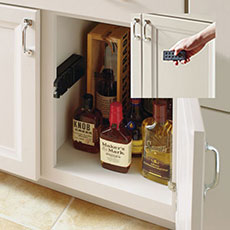 Locking Cabinet With Remote Control