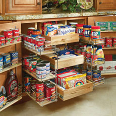 Kitchen Cabinet Organization - MasterBrand