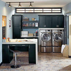 Our Laundry Cabinet Solutions Combine Beauty And Functionality To Make  Doing Laundry More Enjoyable.