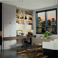 Deck Out A Desk To Meet Your Personal Needs With Our Stylish Office  Cabinetry.