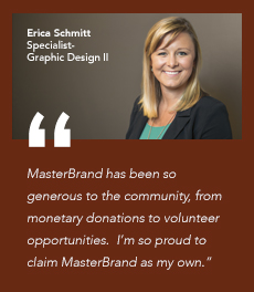 Testimonial from a MasterBrand employee