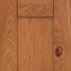 Rustic Cherry cabinet wood