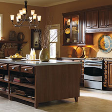 Hickory Kitchen Cabinets From MasterBrand