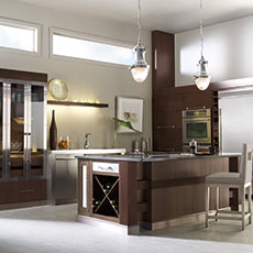 Walnut Kitchen Cabinets From Masterbrand