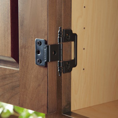 Cabinet Hinges & Types of Cabinet Hinges - Choosing Hardware - MasterBrand
