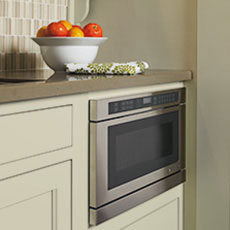Take into account appliances when making kitchen design plans.