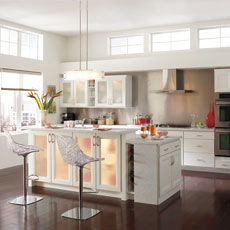 Contemporary style kitchen cabinets