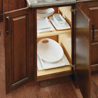 Cabinet Organization by Diamond Cabinets Wins Kitchen Design Excellence Award