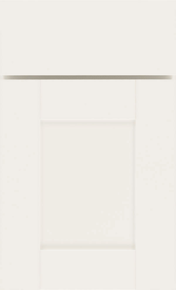 Benson cabinet door style in white by Diamond