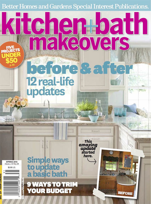 Better Homes and Gardens Kitchen + Bath Makeovers magazine