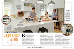 Image from Cooking Light article, A Fresh Place to Gather, in the March 2016 issue