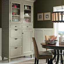 Cabinetry options made simple with Decora by Design, a cabinet program that helps perfect any special cabinetry design.