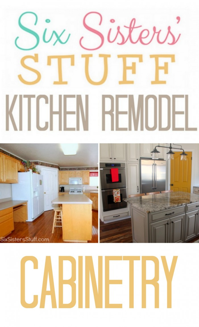 Kitchen remodel for Six Sisters' Stuff blog features Diamond cabinets