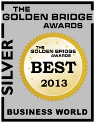 Cabinetry website masterbrand.com by MasterBrand Cabinets is named a Website of the Year Silver Winner by Golden Bridge Awards.