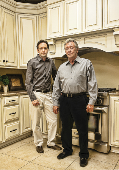 MasterBrand cabinet dealer Campbell Cabinets recognized by New Orleans Homes for kitchen and bath design.
