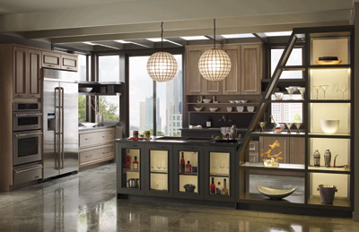 Omega Full Access Kitchen Cabinets