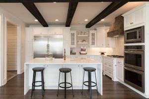 St. Jude Dream Home featuring white Homecrest Cabinetry