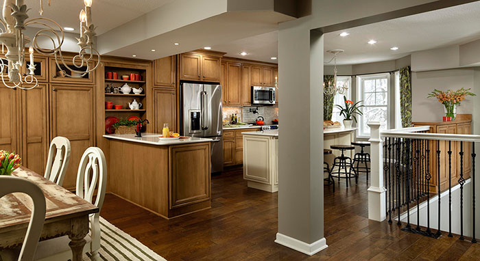 Kitchen remodel with Decora Cabinets on Rachael Ray Show>