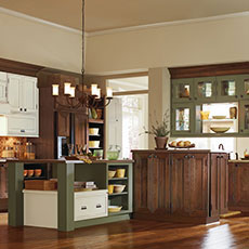 Handcrafted kitchen cabinetry by Decora