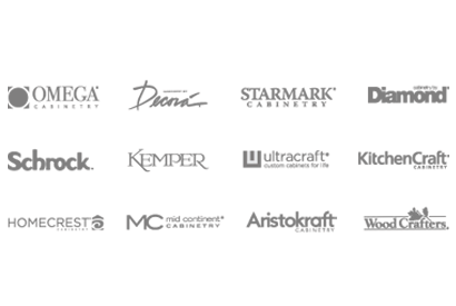 Graphic showing the family of MasterBrand brands