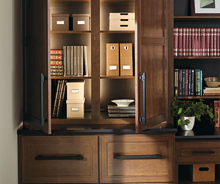 Cherry Office Cabinets Masterbrand