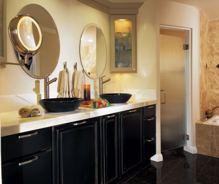 Astonishing Black Bathroom Cabinets With Distressing Masterbrand Interior Design Ideas Pimpapslepicentreinfo