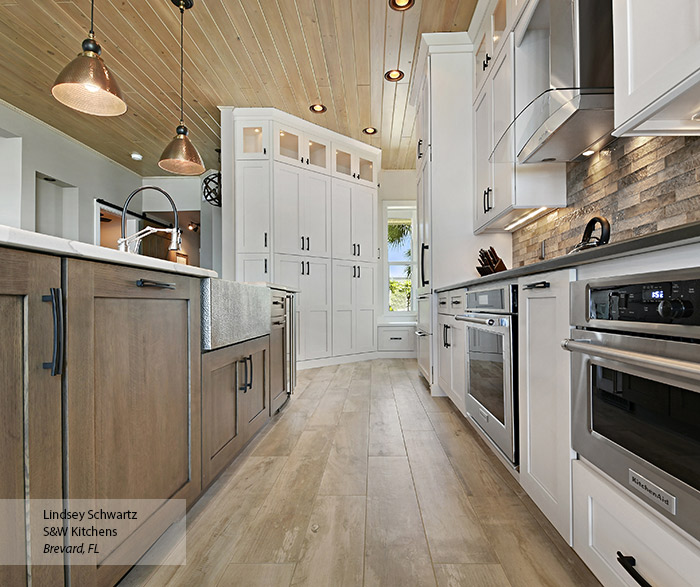 The Best Brand Of Paint For Kitchen Cabinets: Painted Oak Kitchen Cabinets