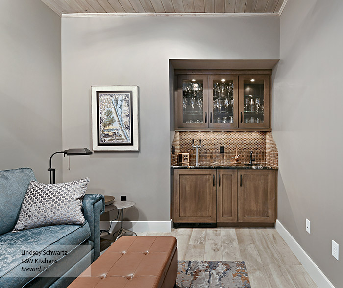 Wet Bar Cabinets