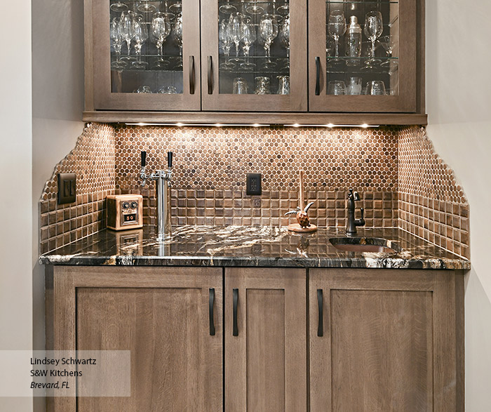 Wet Bar Cabinets - MasterBrand