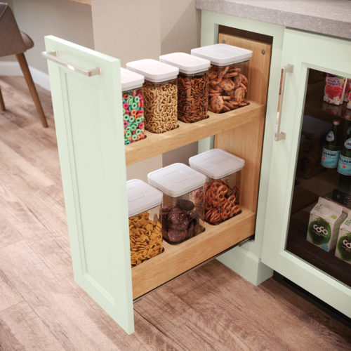 Base Container Organizer Pantry Pull-out