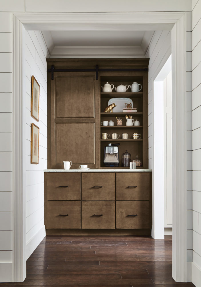 Built-in with Coffee Station
