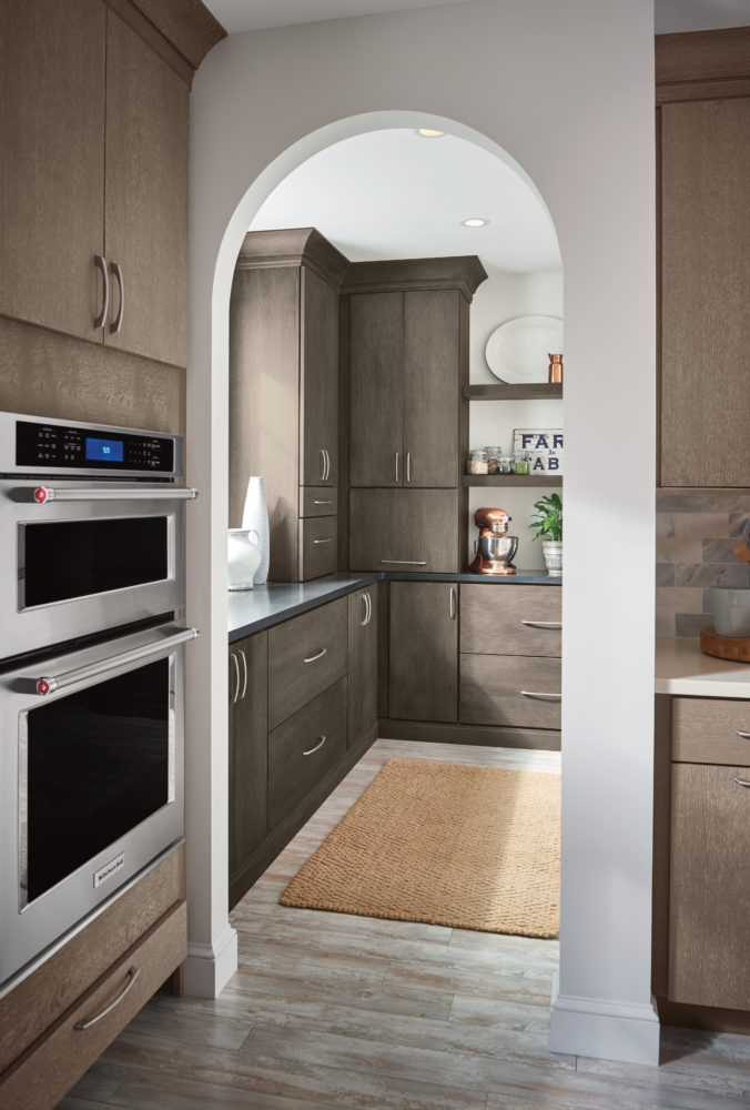 Secondary Prep Space in Kitchen Pantry