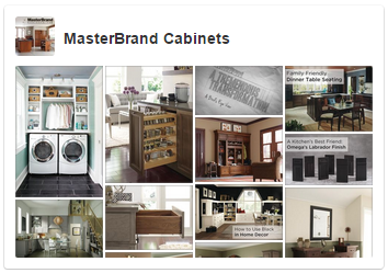 Image of MasterBrand's Pinterest profile