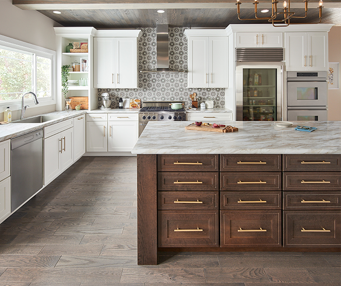 Garrison_Maple_White_Garrison_Cherry_Slate_Kitchen_Straight